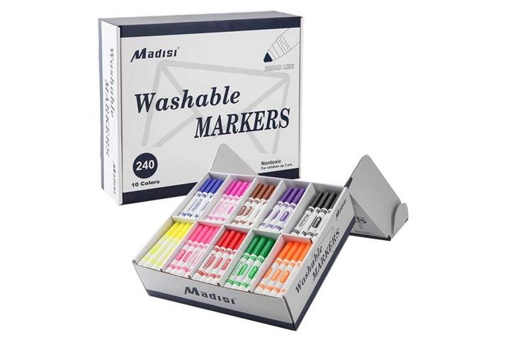 Madisi Washable Markers