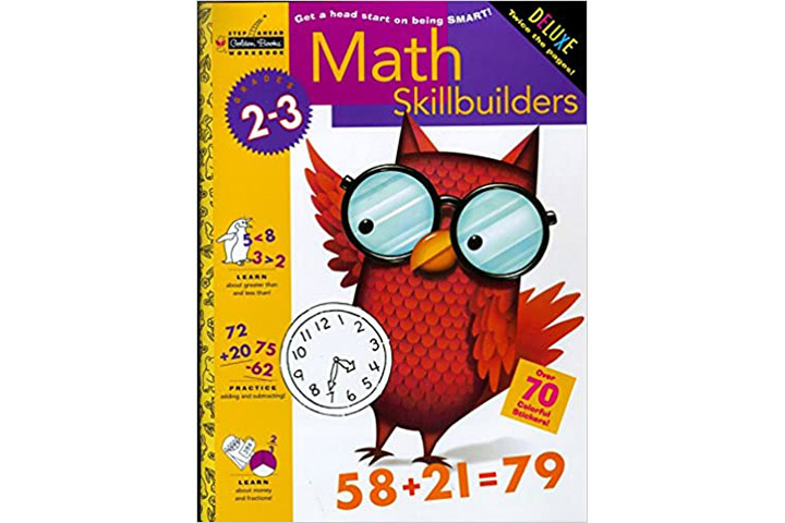 Math Skill builders by Golden Books