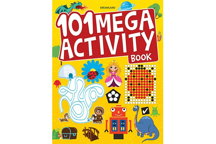 Mega Activity Book Paperback