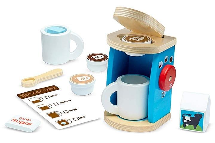 Melissa & Doug Brew & Serve Coffee Maker Set