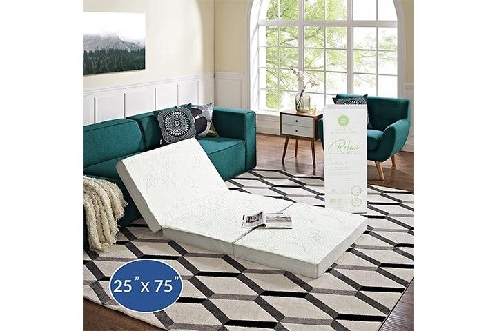 Modway Relax Tri-Fold Mattress Topper