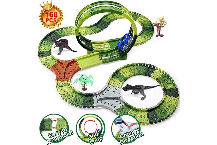 Mofir Dinosaur Toys Race Tracks