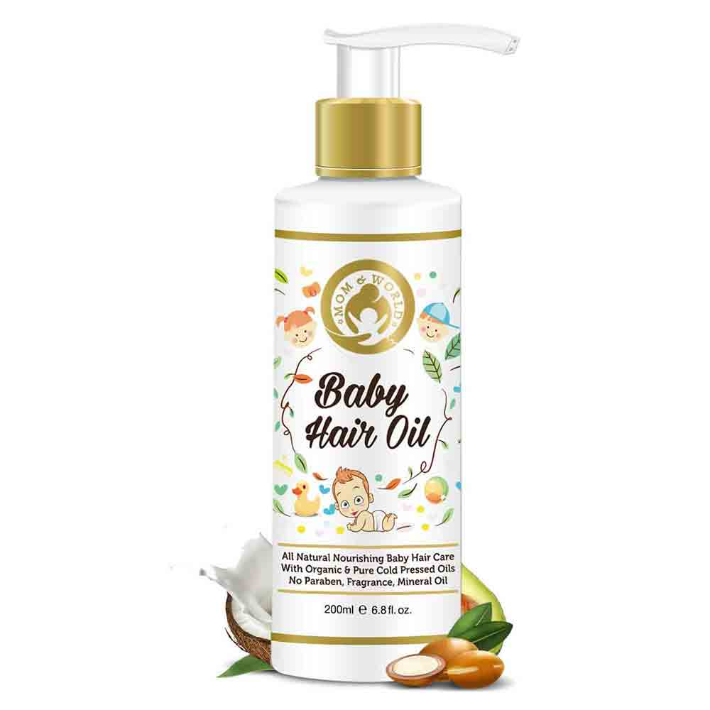 Mom & World Baby Hair Oil-0