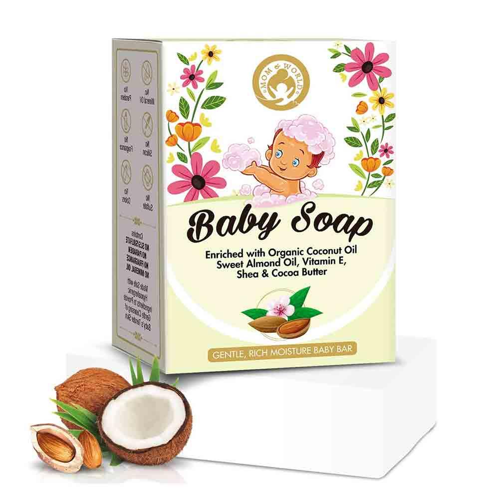 Mom & World Natural Baby Soap-0