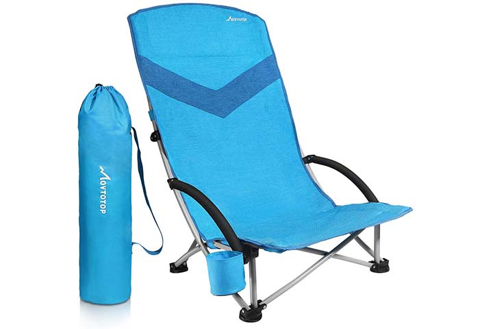 Movtotop Folding Camping Beach Chair