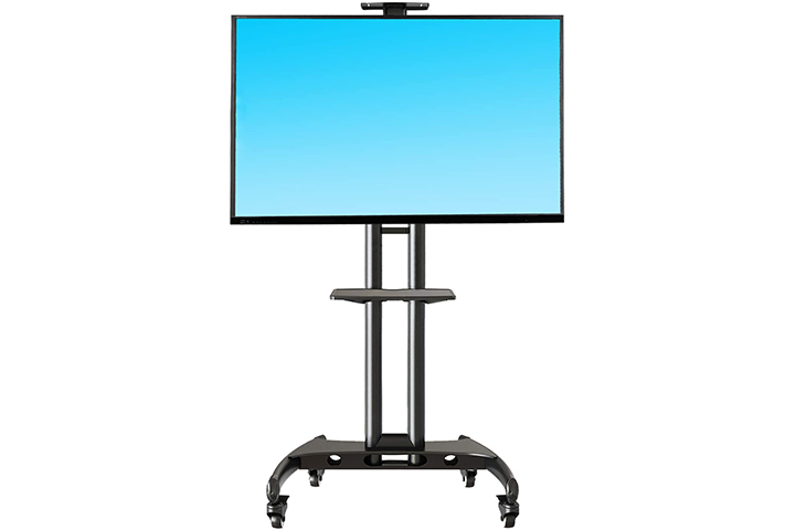 NB North Bayou Mobile TV Cart TV Stand with Mount