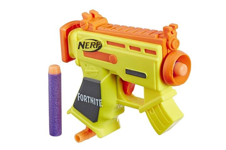 NERF Fortnite Micro AR-L Microshots Dart-Firing Toy Blaster
