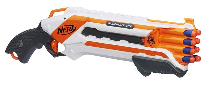 NERF Gun N-Strike Rough Cut 2x4 Blaster