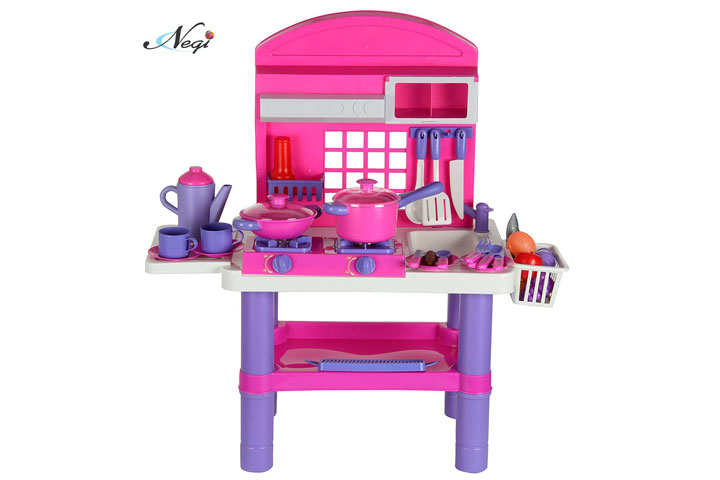 Negi Battery Operated Electronic Kitchen Cooking Set