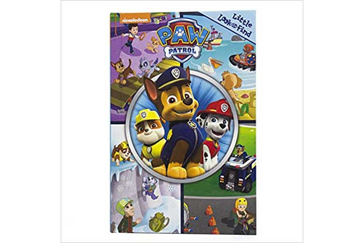 Nickelodeon-Paw Patrol- Little Look and Find Activity Book