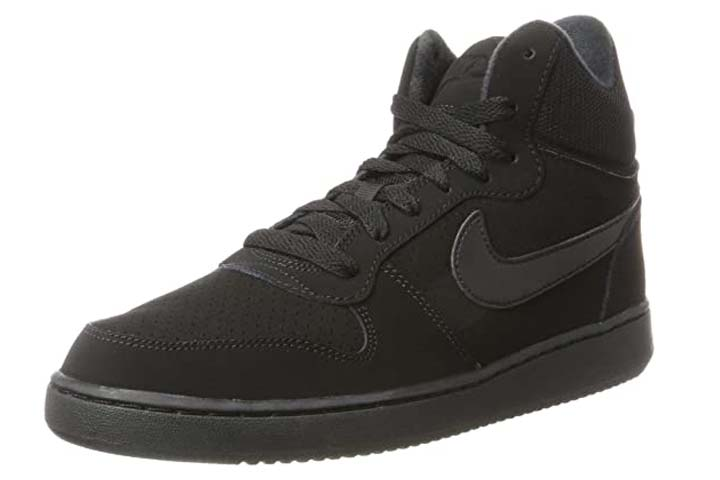 Nike Womens Court Borough Mid Basketball Shoes