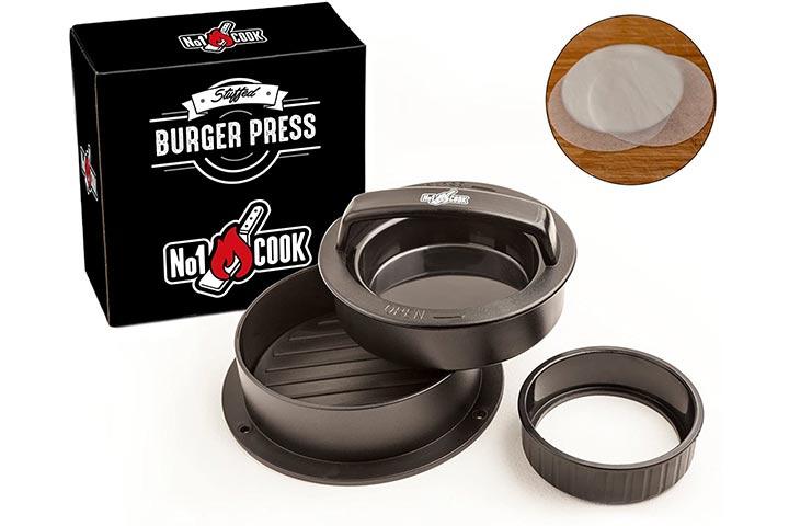 No1cook Hamburger Press