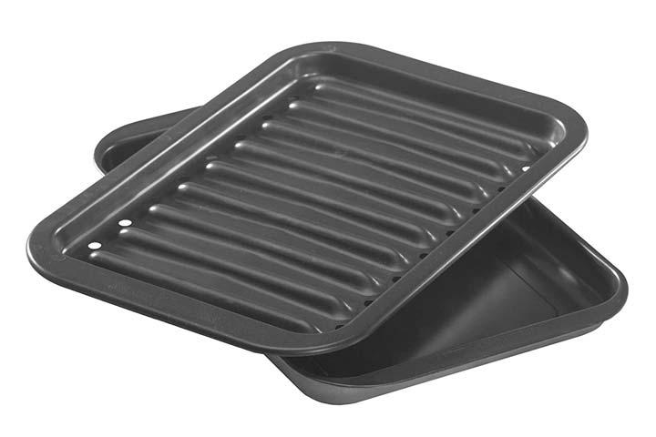 Nordic Ware Non-stick Broiler Pan Set