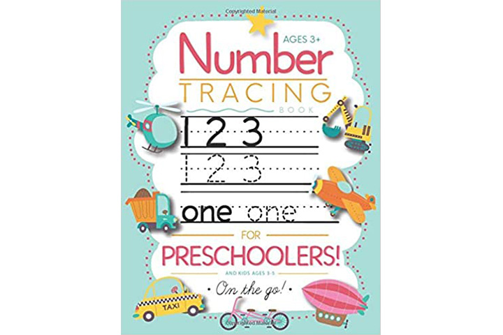 Number Tracing Book by Modern Kid Press