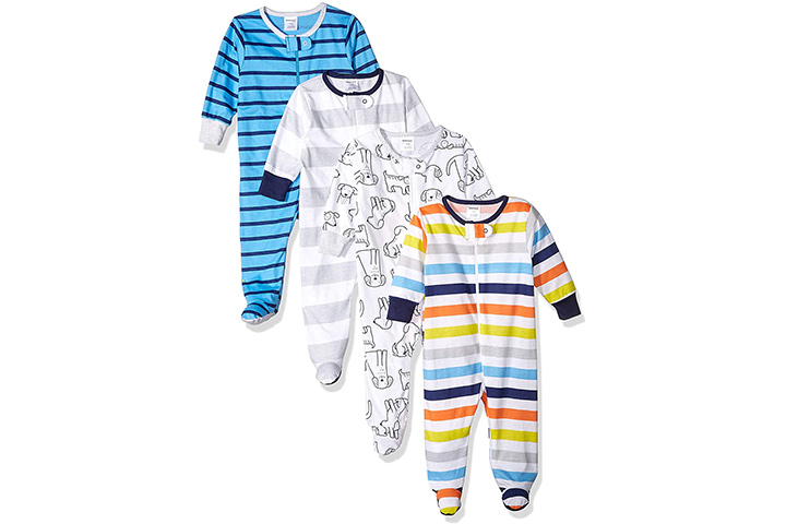 Onesies Brand Baby Boys 4-Pack Sleep N Play