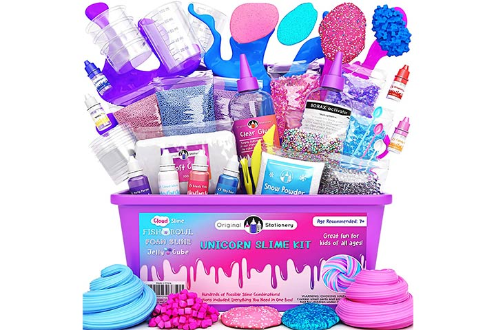 Original Stationery Unicorn Slime Kit
