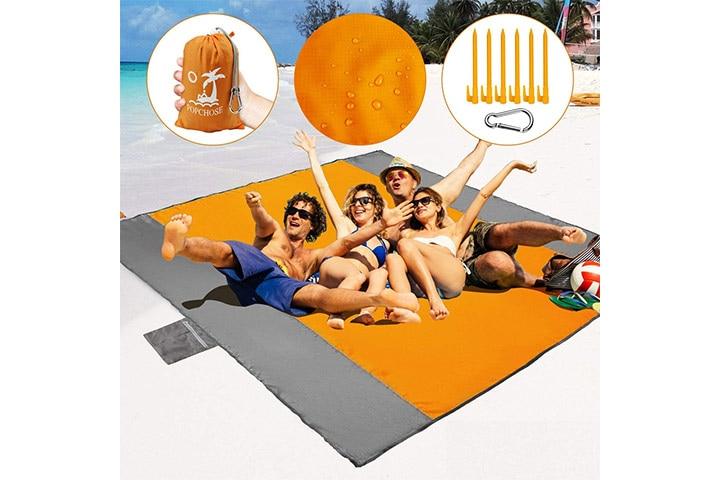 POPCHOSE Sandfree Beach Blanket