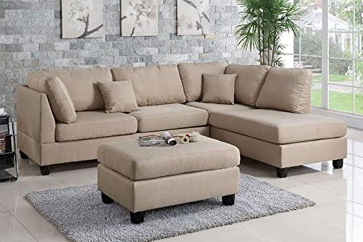 Poundex PDEX- Upholstered Sofas/Sectionals
