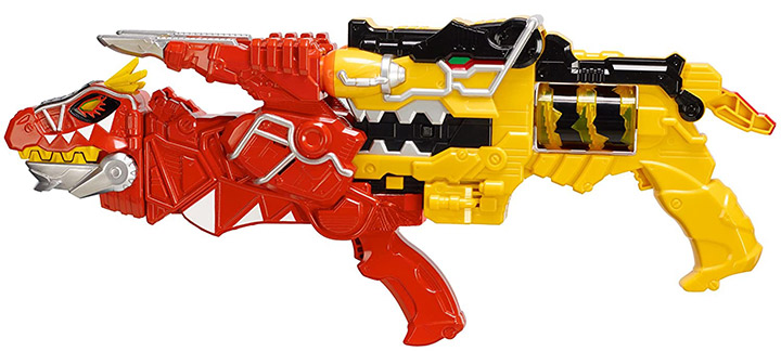 Power Rangers Dino Super Charge Morpher and T-Rex Blaster Set