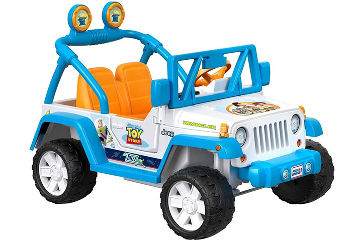 Power Wheels Disney/ Pixar Toy Story Jeep Wrangler