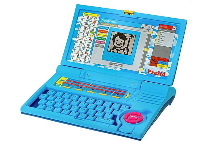 Presid Kids English Learner Computer Toy Educational Laptop