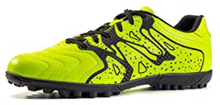 ROONASN Kids' OutdoorIndoor Soccer Shoes