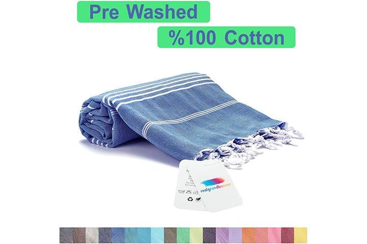 Realgrandbazaar Pestemal Turkish Towel