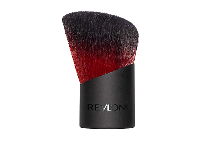 Revlon Kabuki Brush, Face Makeup Brush For Loose And Pressed Powder