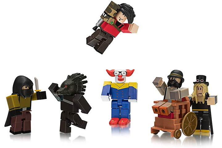 Roblox Champions Of Roblox Action Figure 6 Pack Brand New Toys 15 Best Roblox Toys In 2020