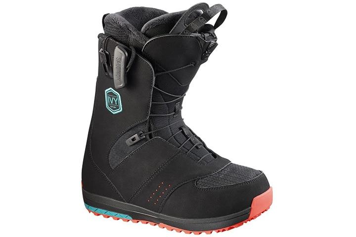 Salomon Women's Ivy Snowboard Boot, Black