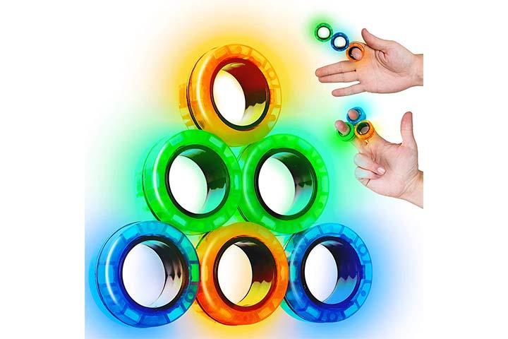 Scratchiez Magnetic Rings Fidget
