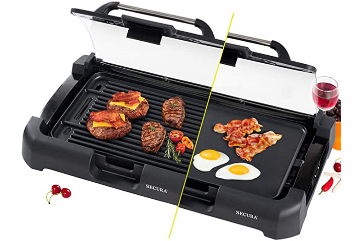 Secura Smokeless Indoor Electric Griddle