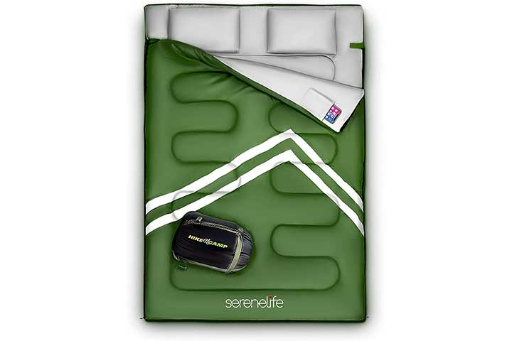SereneLife Backpacking Sleeping Bag Camping Gear