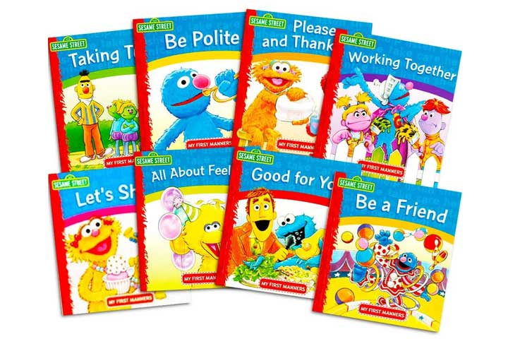 Sesame Street Elmo Manner Books for Kids