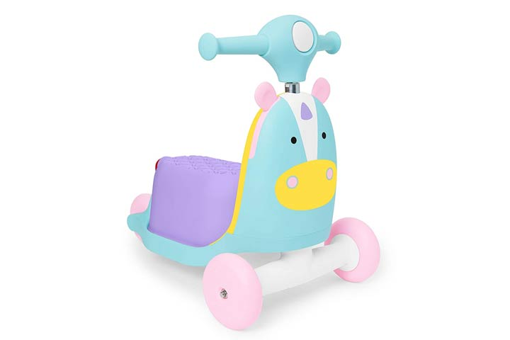 Skip Hop Kids 3-In-1 Ride-on Scooter