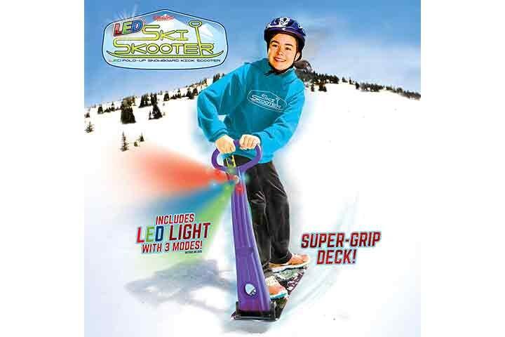 Sledster LED Ski Skooter