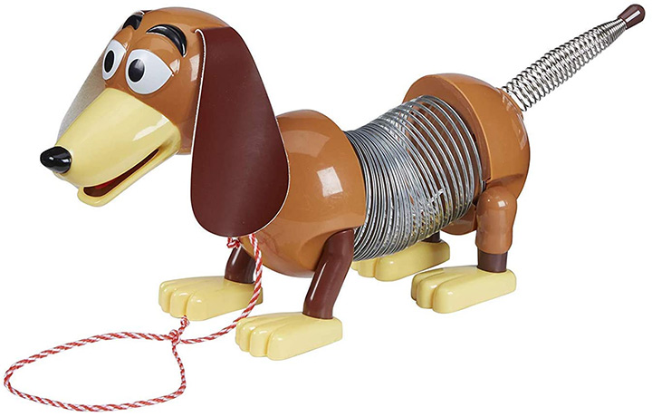 Slinky Disney Pixar Toy Story 4 Dog Pull String Toy