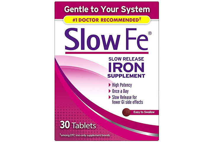 Slow Fe Iron Supplement Tablets