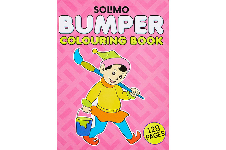 Solimo bumper coloring book