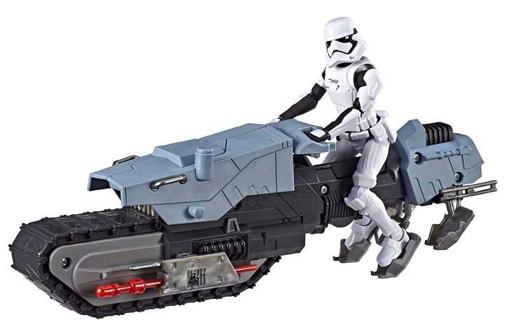 Star Wars Galaxy of Adventures First Order Driver Treadspeeder