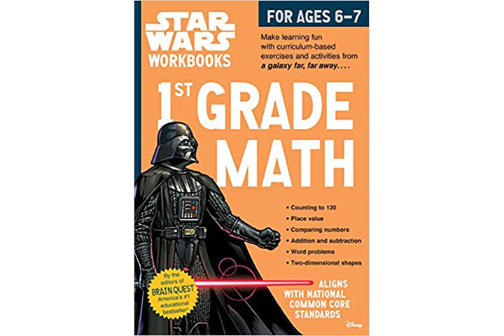 Star Wars Workbook 1st Grade Math by Workman