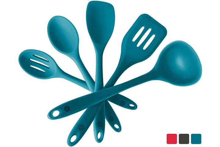 StarPack Basics Silicone Kitchen Utensil Set