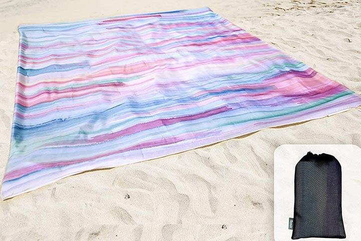 Sunlit Silky Soft Beach Blanket