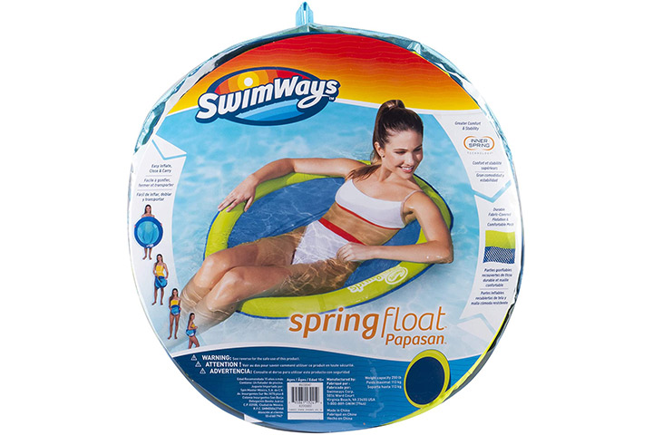 Swim Ways Spring Float- Light Blue