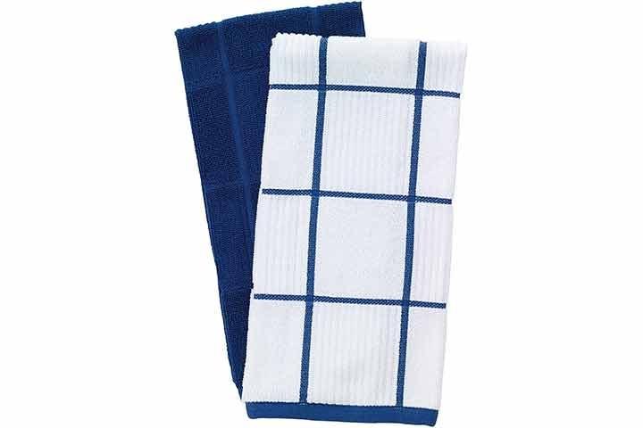 T-Fal Textiles Parquet Design Kitchen Dish Towel