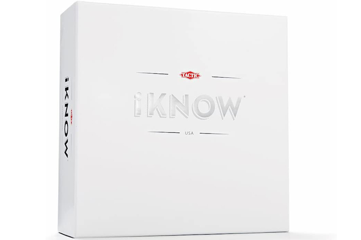 Tactic Games US iKnow Bet-On-The Answer Quiz Game