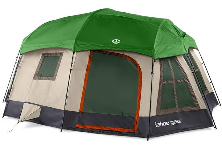 Tahoe Gear Ozark Large Family Cabin Tent