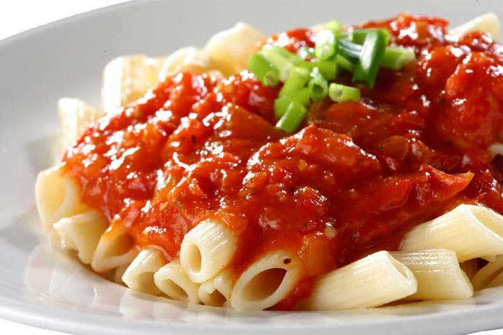 Tangy tomato pasta