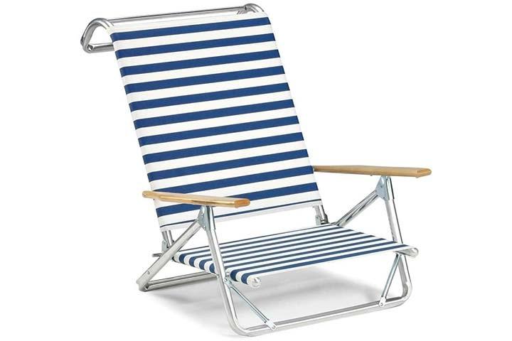 Telescope Casual Mini-Sun Chaise Folding Beach Chair