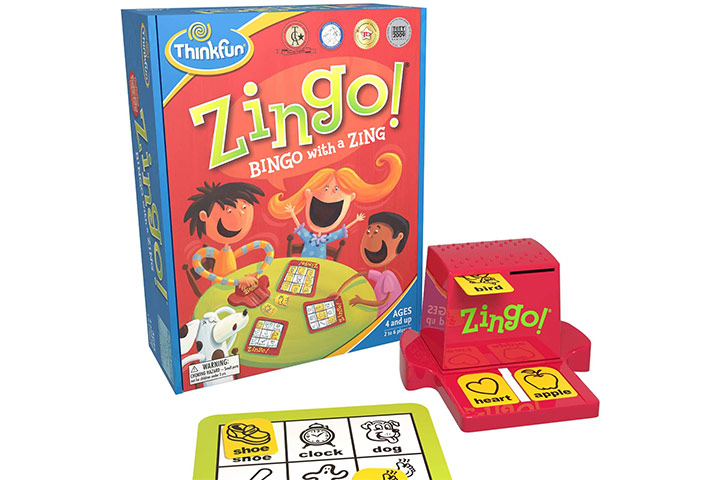 Think fun Zingo Bingo With A Zing